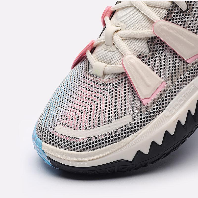 бежевые  кроссовки nike kyrie 7 CZ0141-100 - цена, описание, фото 4