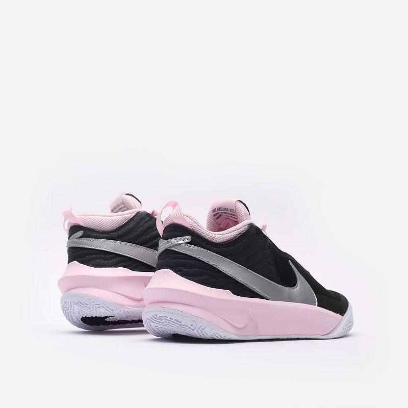 женские черные баскетбольные кроссовки Nike Team Hustle D 10 SE (GS) CW6735-003 - цена, описание, фото 6