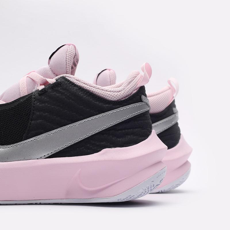 женские черные баскетбольные кроссовки Nike Team Hustle D 10 SE (GS) CW6735-003 - цена, описание, фото 5