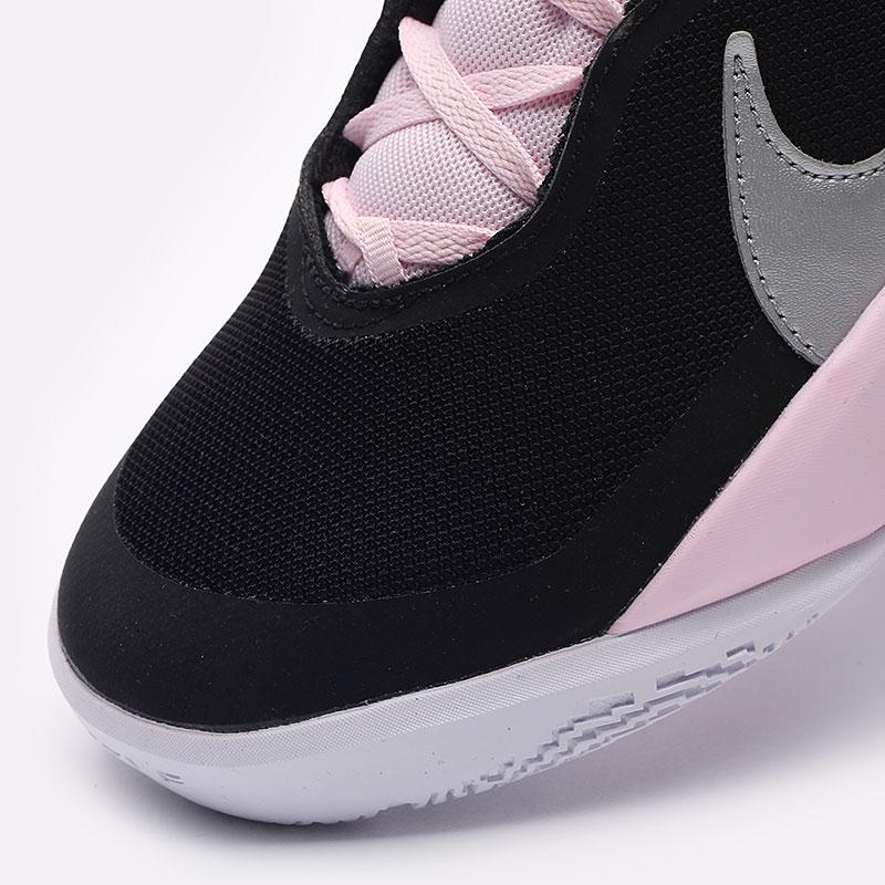 женские черные баскетбольные кроссовки Nike Team Hustle D 10 SE (GS) CW6735-003 - цена, описание, фото 8