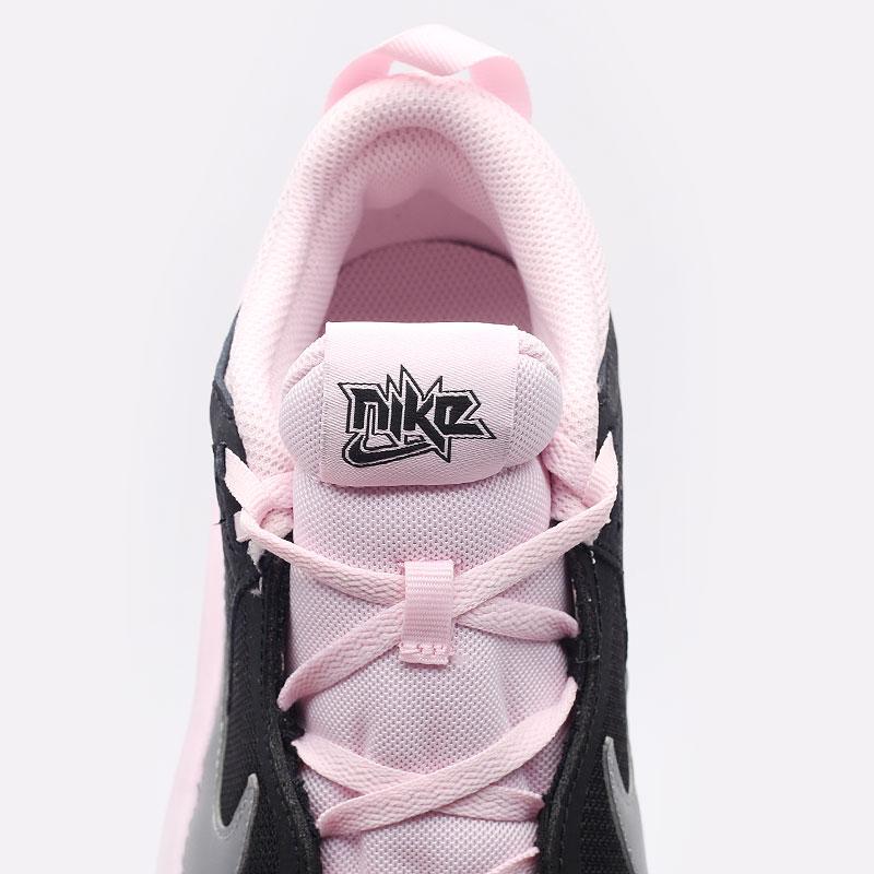 женские черные баскетбольные кроссовки Nike Team Hustle D 10 SE (GS) CW6735-003 - цена, описание, фото 4