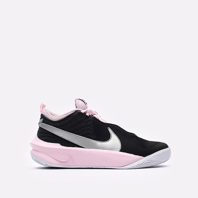 женские черные баскетбольные кроссовки Nike Team Hustle D 10 SE (GS) CW6735-003 - цена, описание, фото 1