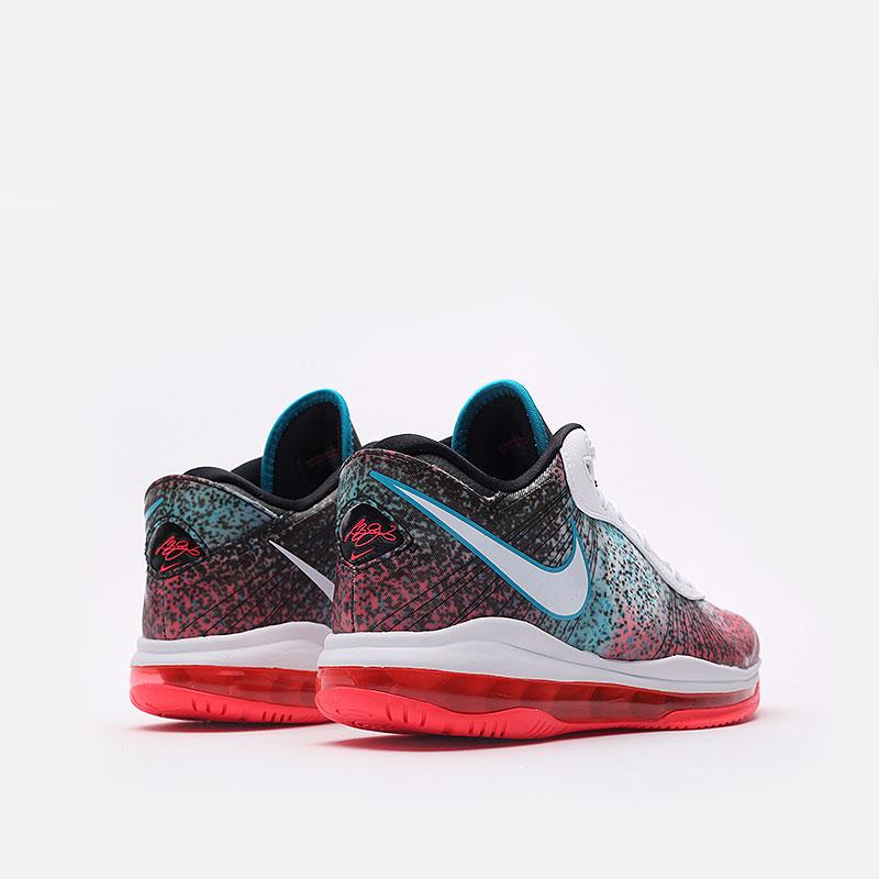 мужские разноцветные  кроссовки nike lebron viii v/2 low qs DJ4436-100 - цена, описание, фото 6