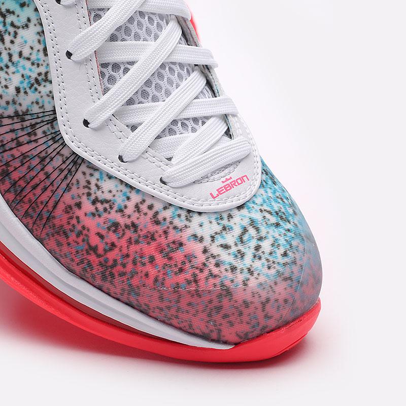 мужские разноцветные  кроссовки nike lebron viii v/2 low qs DJ4436-100 - цена, описание, фото 5
