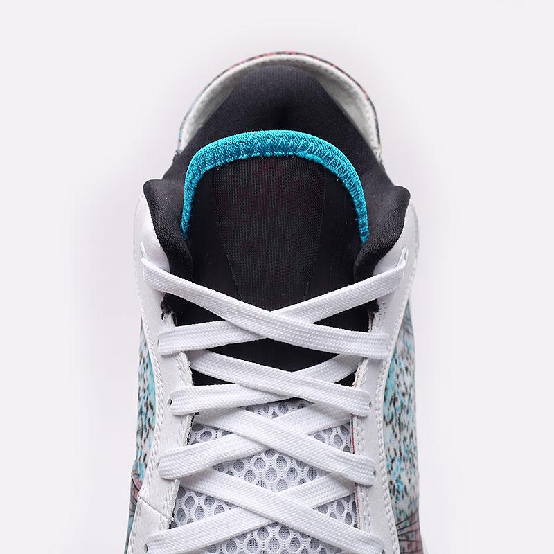 мужские разноцветные  кроссовки nike lebron viii v/2 low qs DJ4436-100 - цена, описание, фото 4