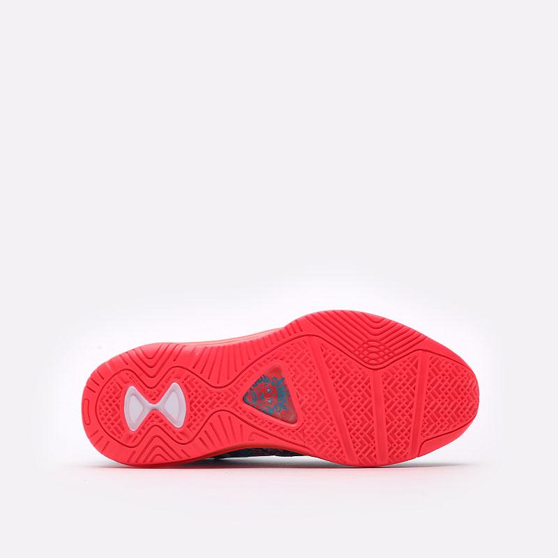 мужские разноцветные  кроссовки nike lebron viii v/2 low qs DJ4436-100 - цена, описание, фото 8