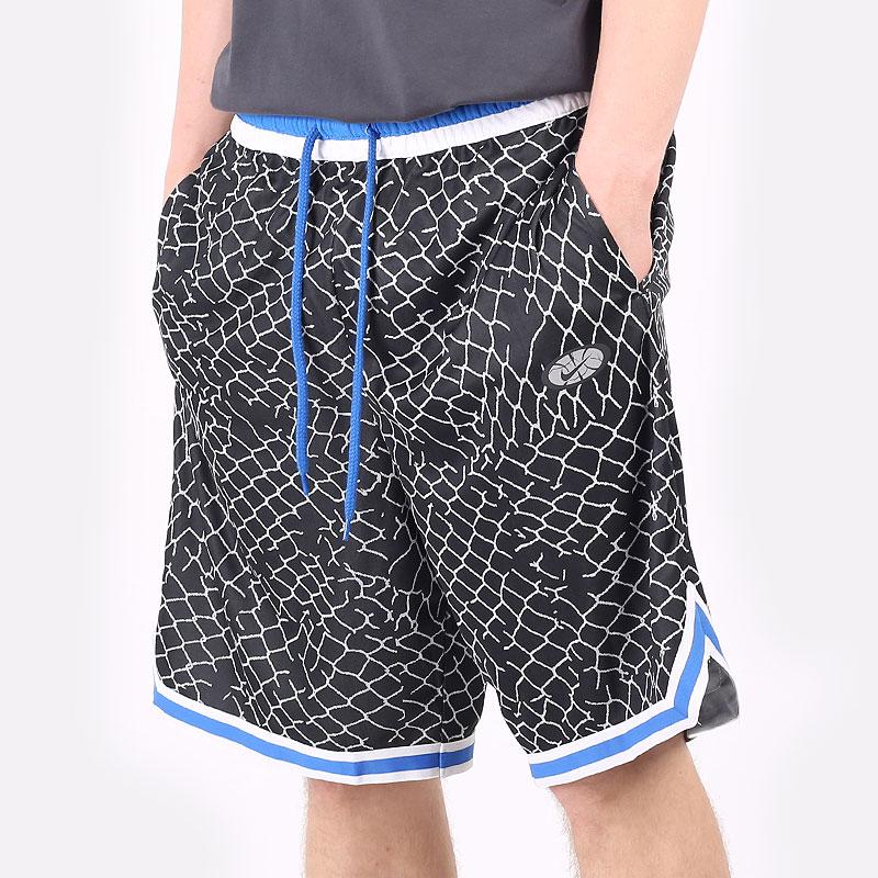 мужские черные  шорты  nike dna basketball shorts DA3026-010 - цена, описание, фото 1