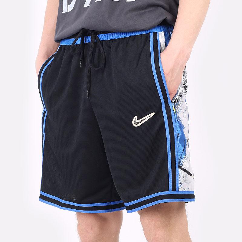 мужские черные  шорты  nike dri-fit dna+  basketball shorts CV1897-013 - цена, описание, фото 1