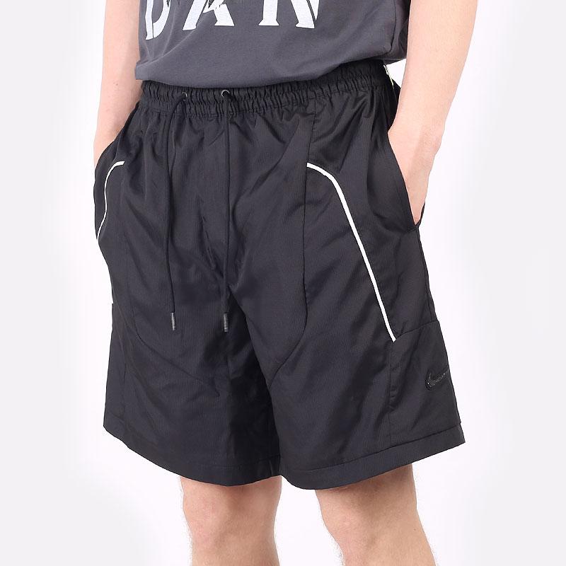мужские черные шорты  Nike Throwback Basketball Shorts CV1862-011 - цена, описание, фото 1