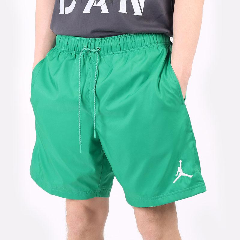 мужские зеленые  шорты  jordan jumpman poolside shorts CZ4751-372 - цена, описание, фото 1