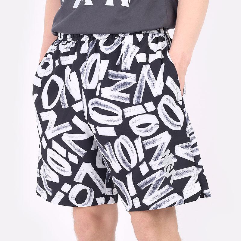 мужские черные  шорты  jordan dri-fit zion performance woven shorts DH0590-010 - цена, описание, фото 1