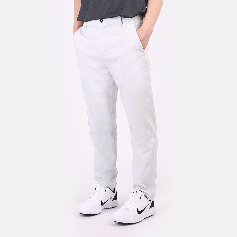 мужские серые  брюки nike golf chino pant DA4130-025 - цена, описание, фото 1