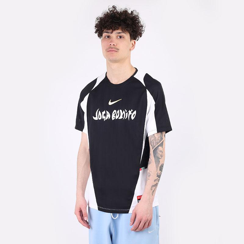 мужскую черную  футболка nike f.c. home football shirt CZ0993-010 - цена, описание, фото 1