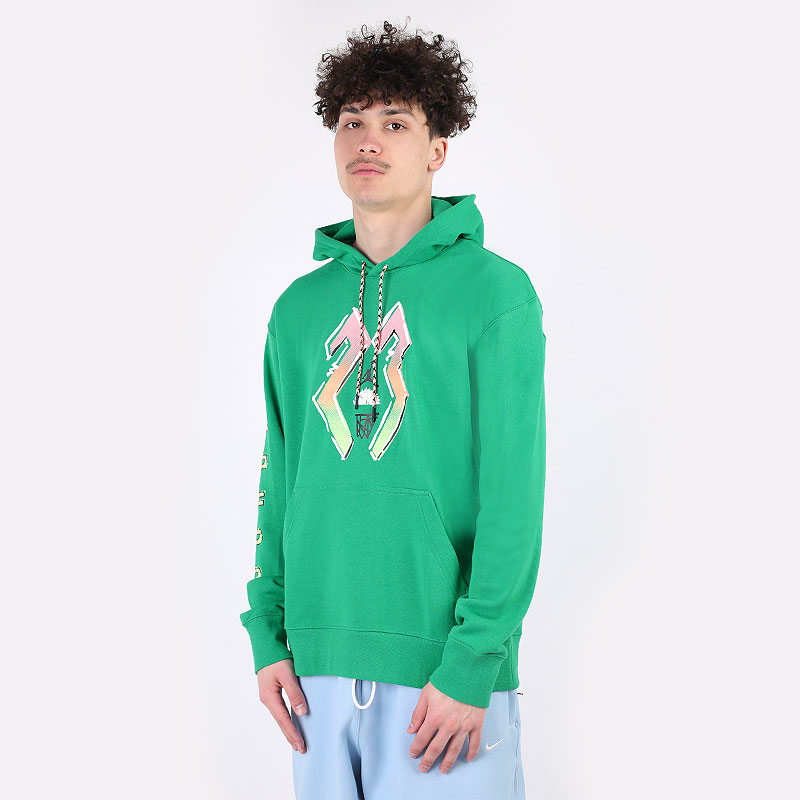 мужскую зеленую  толстовка jordan sport dna hoodie CZ4845-372 - цена, описание, фото 1
