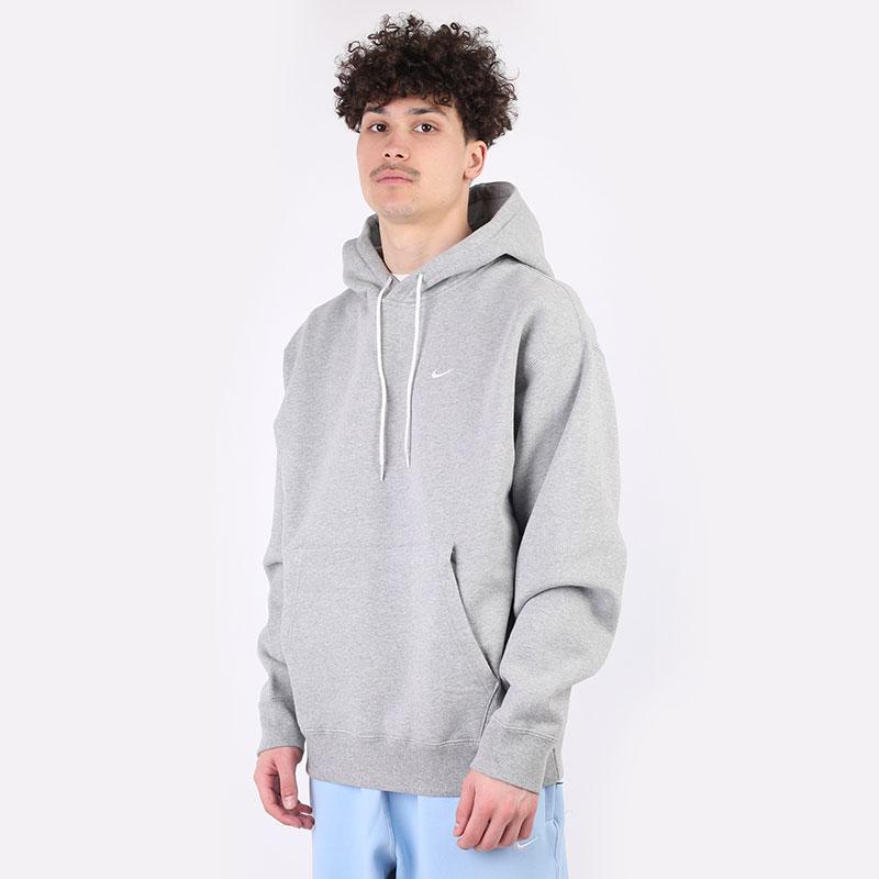 мужская серая толстовка Nike NRG Fleece Hoodie CV0552-063 - цена, описание, фото 1
