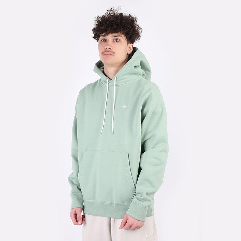 мужскую зеленую  толстовка nike nrg fleece hoodie CV0552-006 - цена, описание, фото 1