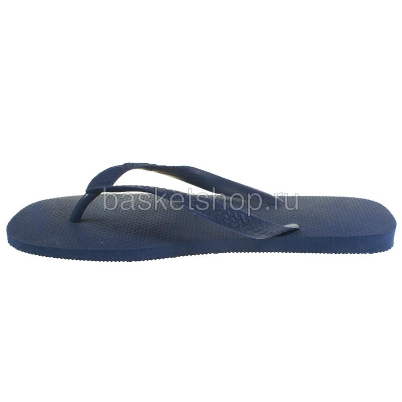 Купить темно-синие  сланцы top в магазинах Streetball изображение - 2 картинки