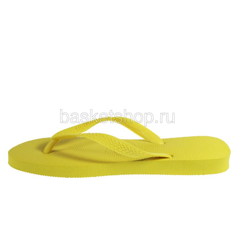 Купить желтые  сланцы top в магазинах Streetball изображение - 2 картинки