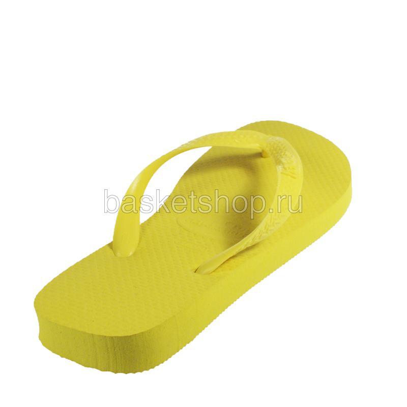 Купить желтые  сланцы top в магазинах Streetball изображение - 3 картинки