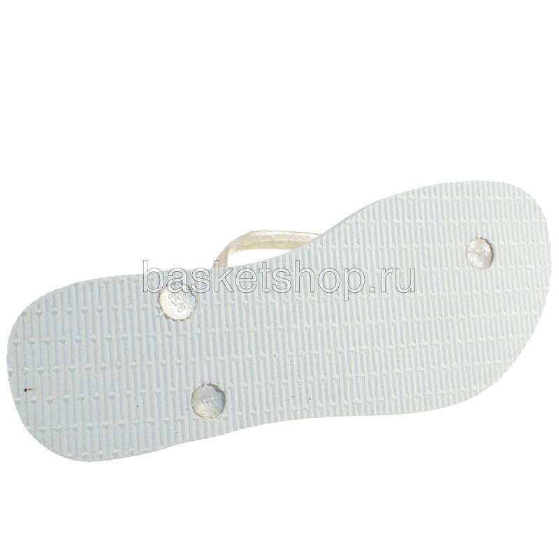 белые  сланцы slim 4000030-0001 - цена, описание, фото 3