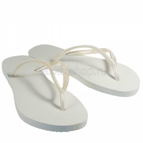 белые  сланцы slim 4000030-0001 - цена, описание, фото 1