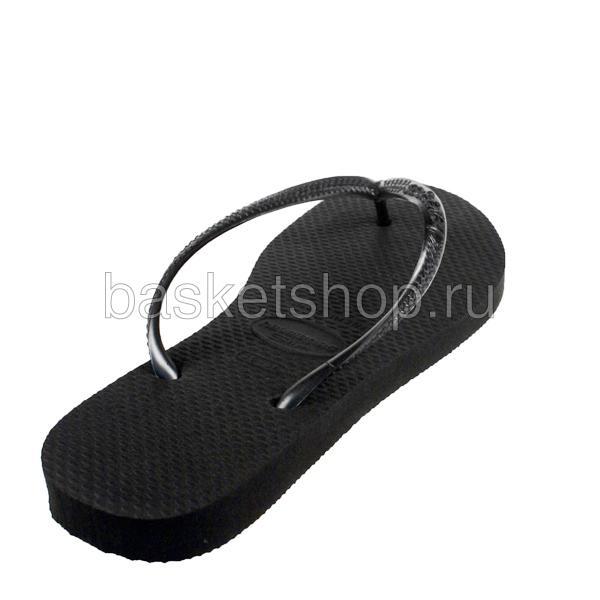 черные  сланцы slim 4000030-0090 - цена, описание, фото 3