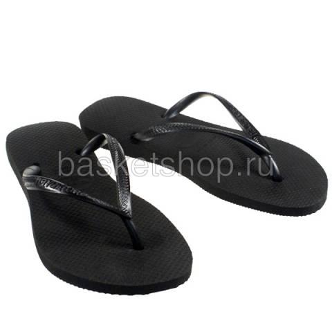 черные  сланцы slim 4000030-0090 - цена, описание, фото 1