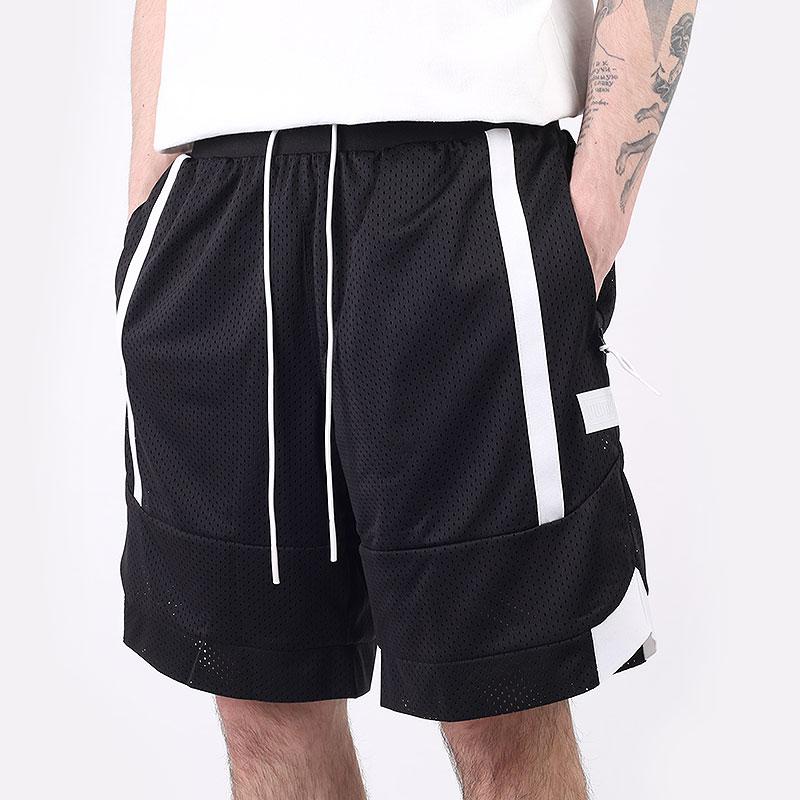 мужские черные  шорты  puma court side mesh short 53032903 - цена, описание, фото 1