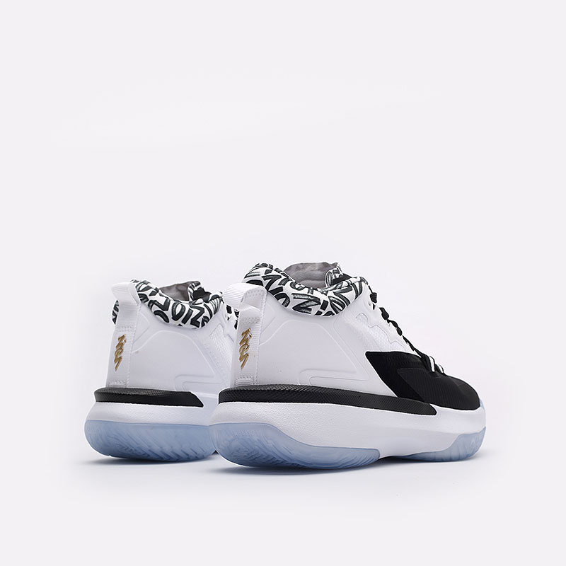 мужские белые  кроссовки jordan zion 1 DA3130-002 - цена, описание, фото 3