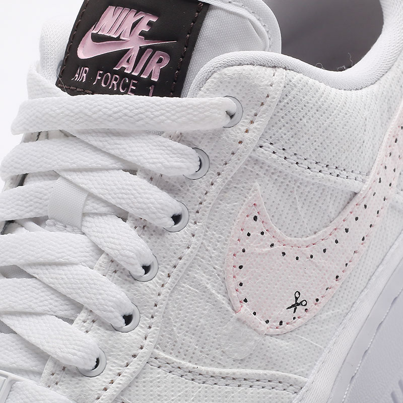 женские белые  кроссовки nike wmns air force 1 '07 prm DJ9941-244 - цена, описание, фото 6