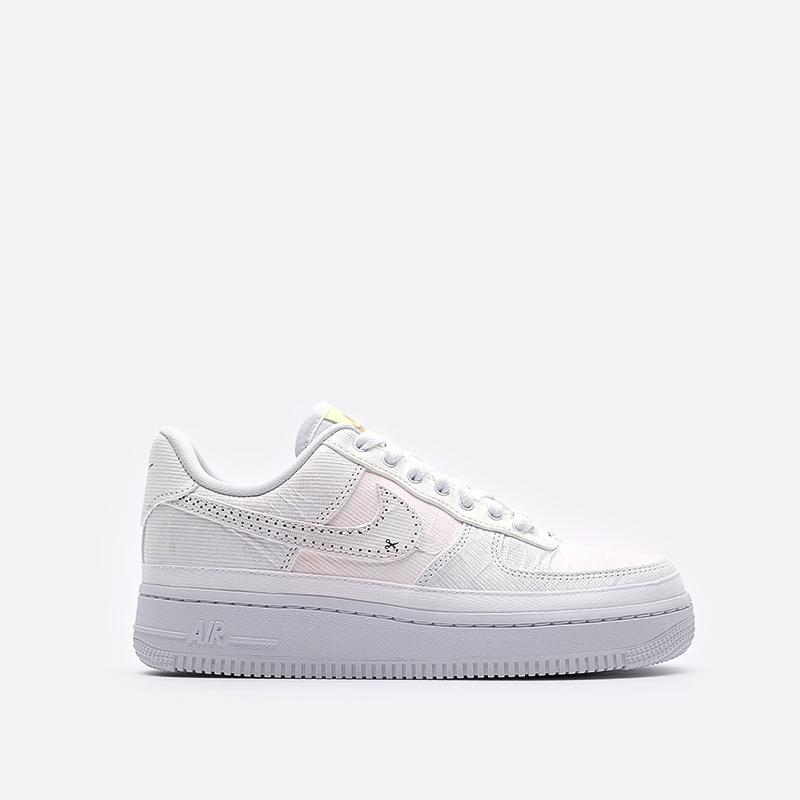 женские белые  кроссовки nike wmns air force 1 '07 prm DJ6901-600 - цена, описание, фото 1