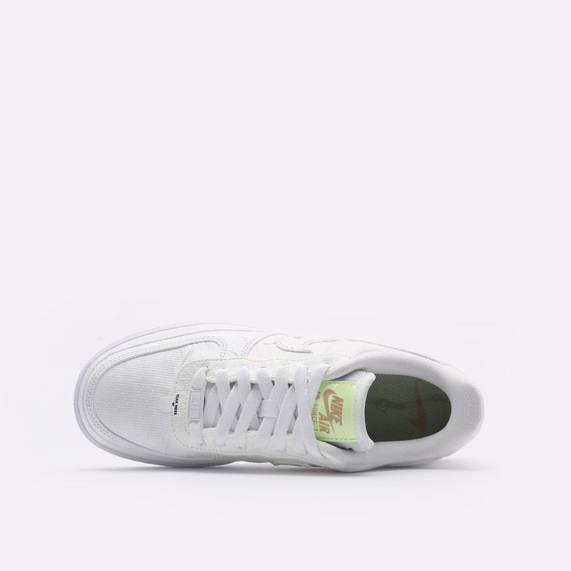женские белые  кроссовки nike wmns air force 1 '07 prm DJ6901-600 - цена, описание, фото 6