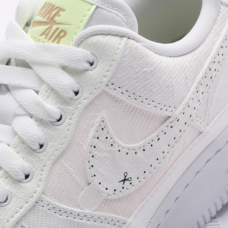 женские белые  кроссовки nike wmns air force 1 '07 prm DJ6901-600 - цена, описание, фото 5