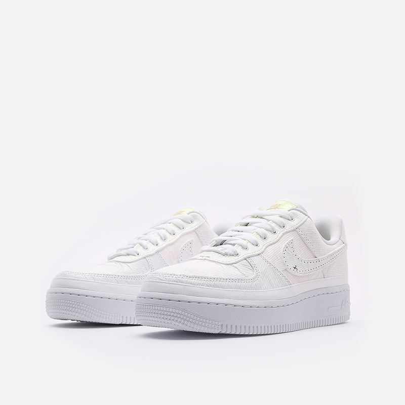 женские белые  кроссовки nike wmns air force 1 '07 prm DJ6901-600 - цена, описание, фото 7