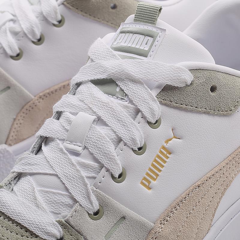 женские белые  кроссовки puma cali sport in bloom wn`s 37504902 - цена, описание, фото 5