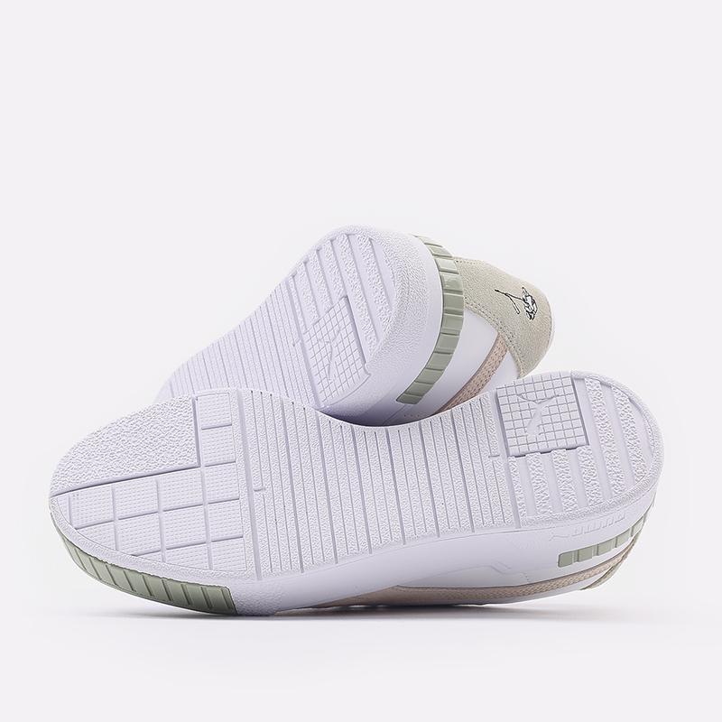 женские белые  кроссовки puma cali sport in bloom wn`s 37504902 - цена, описание, фото 3
