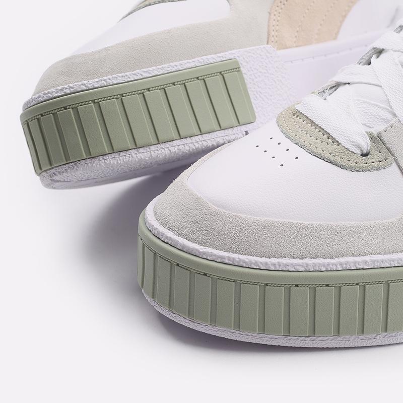 женские белые  кроссовки puma cali sport in bloom wn`s 37504902 - цена, описание, фото 6