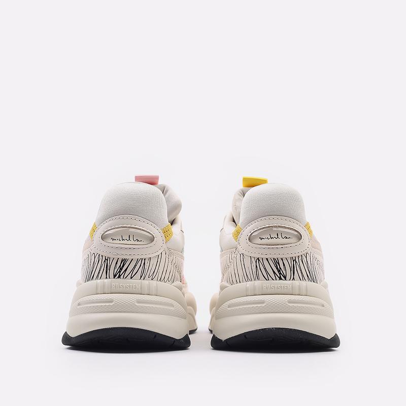 мужские бежевые  кроссовки puma rs-2k michael lau 37519901 - цена, описание, фото 3