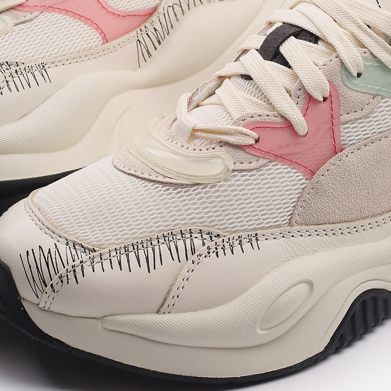 мужские бежевые  кроссовки puma rs-2k michael lau 37519901 - цена, описание, фото 7