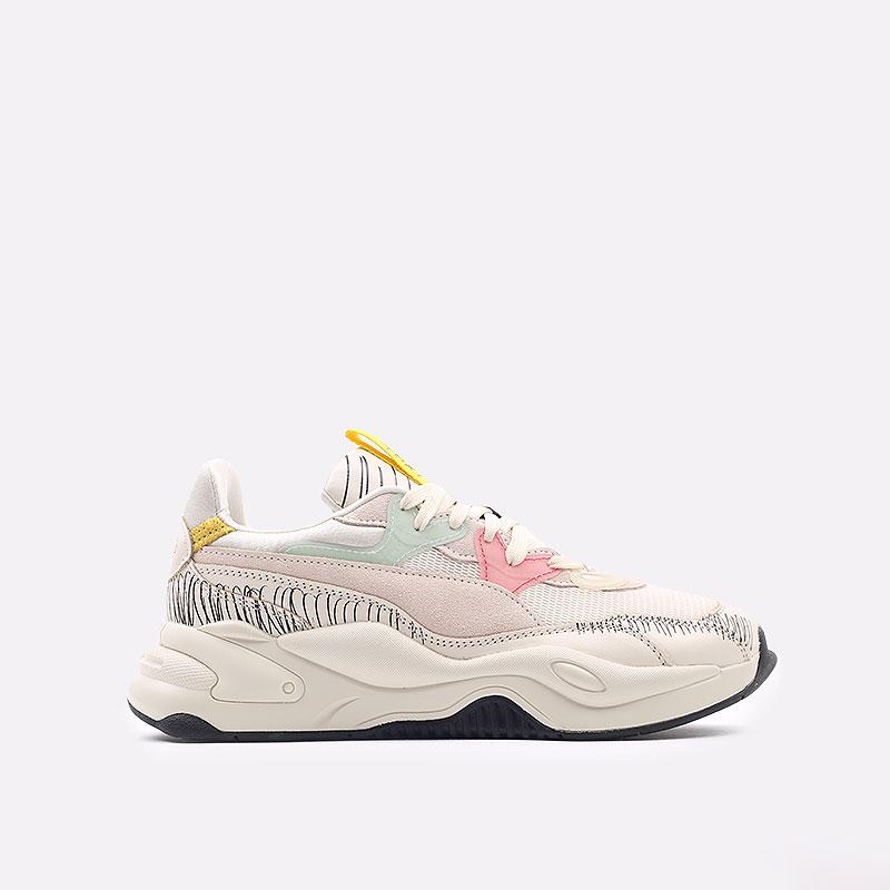 мужские бежевые  кроссовки puma rs-2k michael lau 37519901 - цена, описание, фото 1