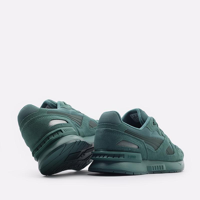 мужские зеленые  кроссовки puma mirage mox mono 37516507 - цена, описание, фото 3