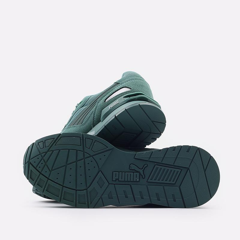 мужские зеленые  кроссовки puma mirage mox mono 37516507 - цена, описание, фото 4