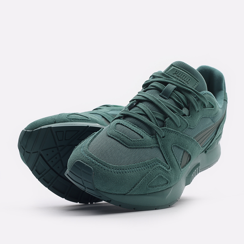 мужские зеленые  кроссовки puma mirage mox mono 37516507 - цена, описание, фото 5