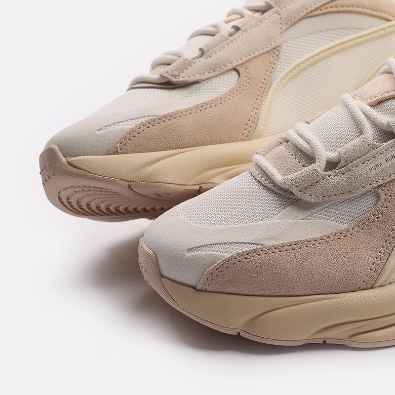 мужские бежевые  кроссовки puma rs-connect mono 37515104 - цена, описание, фото 6