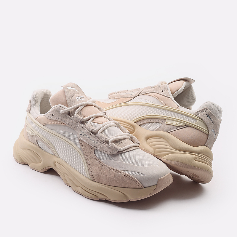 мужские бежевые  кроссовки puma rs-connect mono 37515104 - цена, описание, фото 5