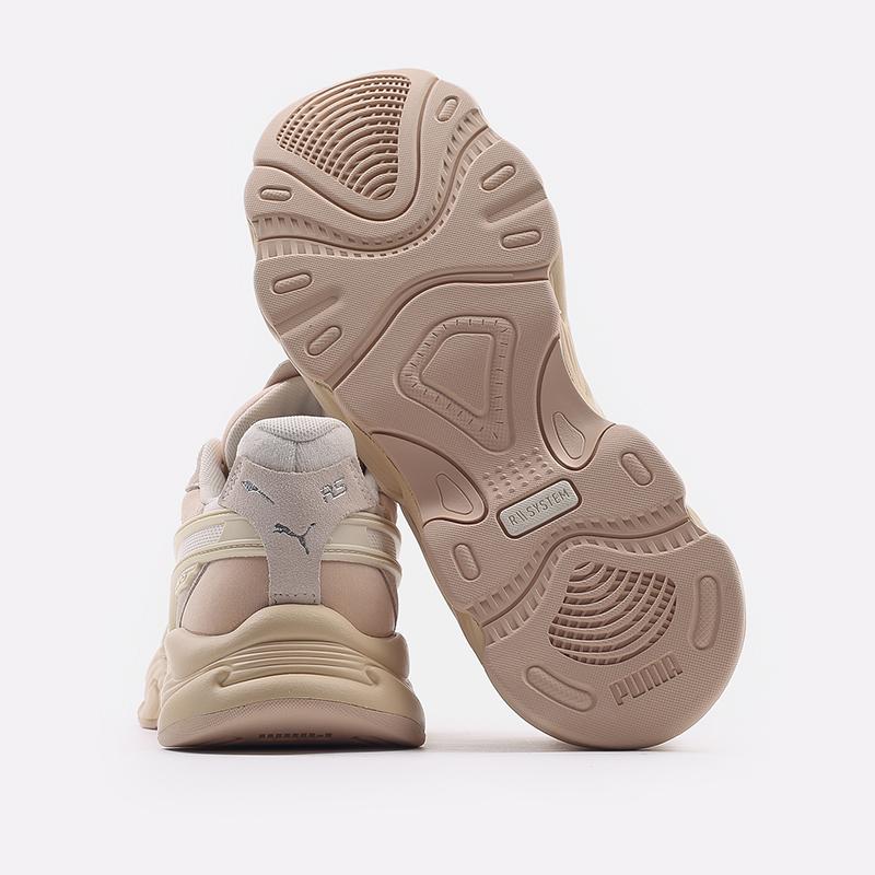 мужские бежевые  кроссовки puma rs-connect mono 37515104 - цена, описание, фото 4