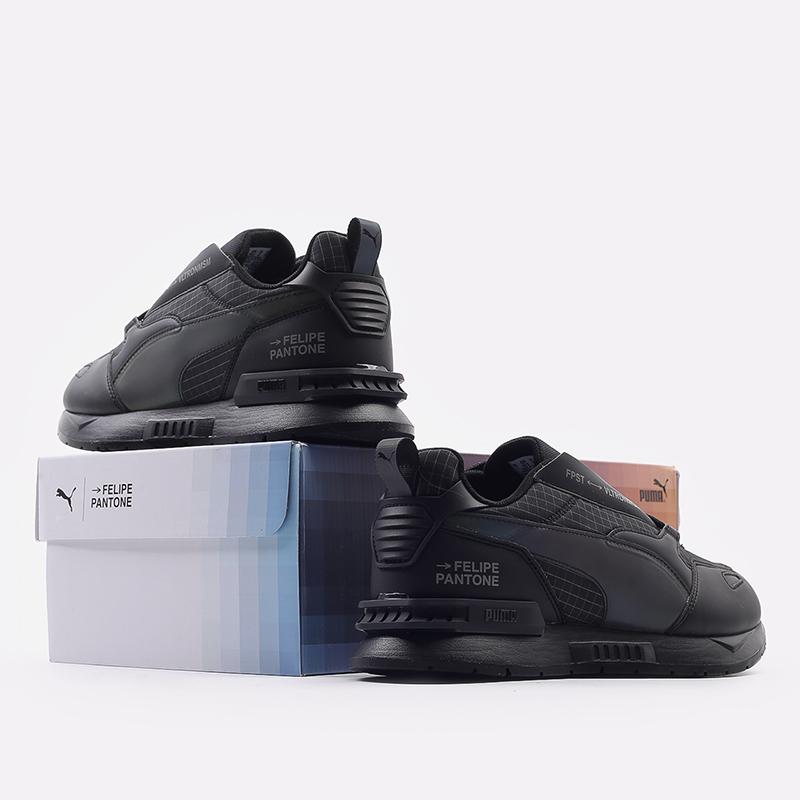мужские черные  кроссовки puma mirage mox tech fp 37563501 - цена, описание, фото 3