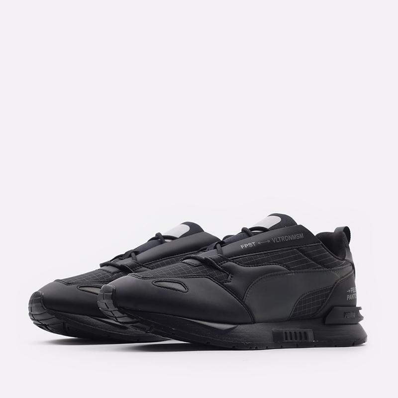мужские черные  кроссовки puma mirage mox tech fp 37563501 - цена, описание, фото 2