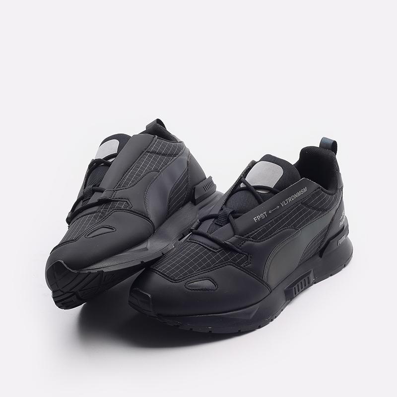 мужские черные  кроссовки puma mirage mox tech fp 37563501 - цена, описание, фото 5