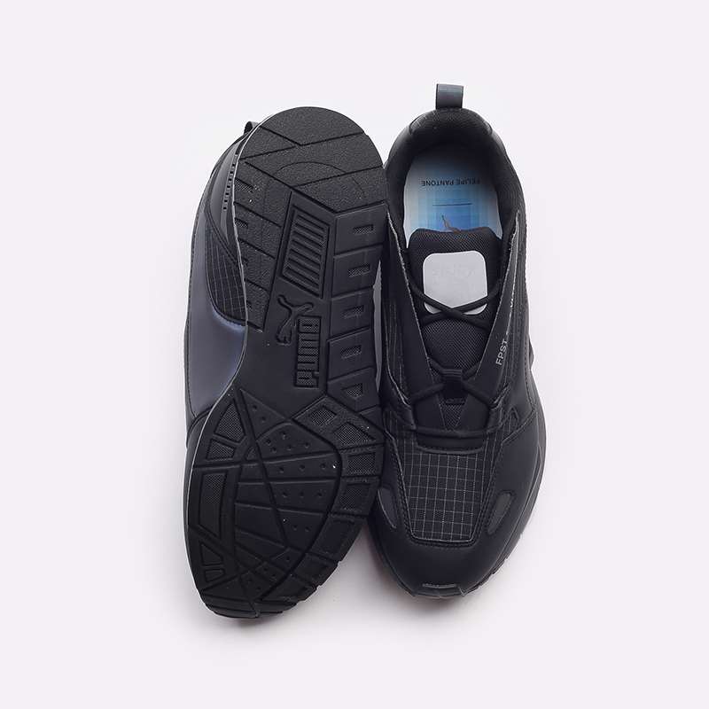 мужские черные  кроссовки puma mirage mox tech fp 37563501 - цена, описание, фото 6